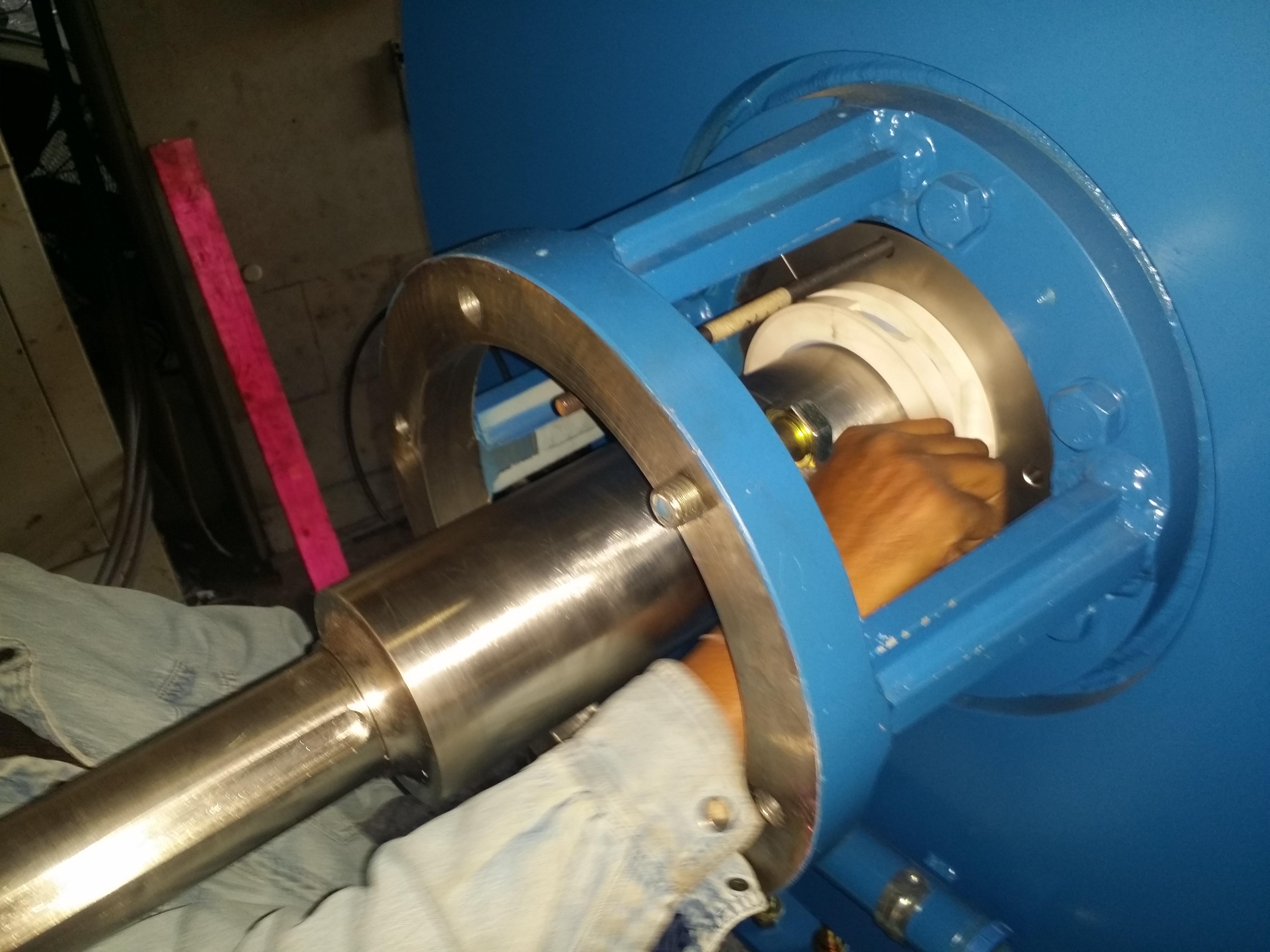 Cinch Seals for 4200L Horizontal Cooling Mixer