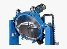 Container Mixer for Powder Coating