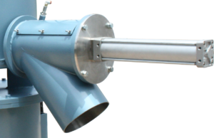 Rotomolding Mixer Discharge Chute