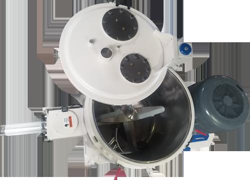 Top View 600L High Intensity Mixer
